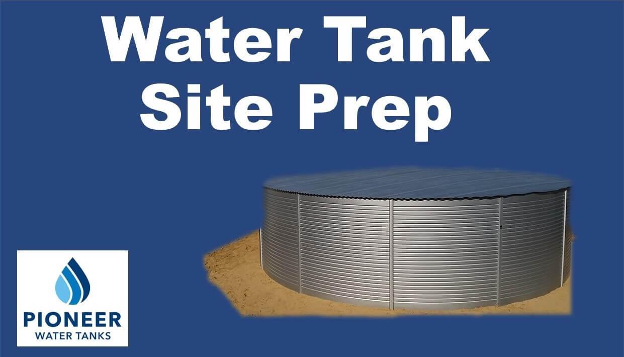 Pioneer-water-tank-site-preparation