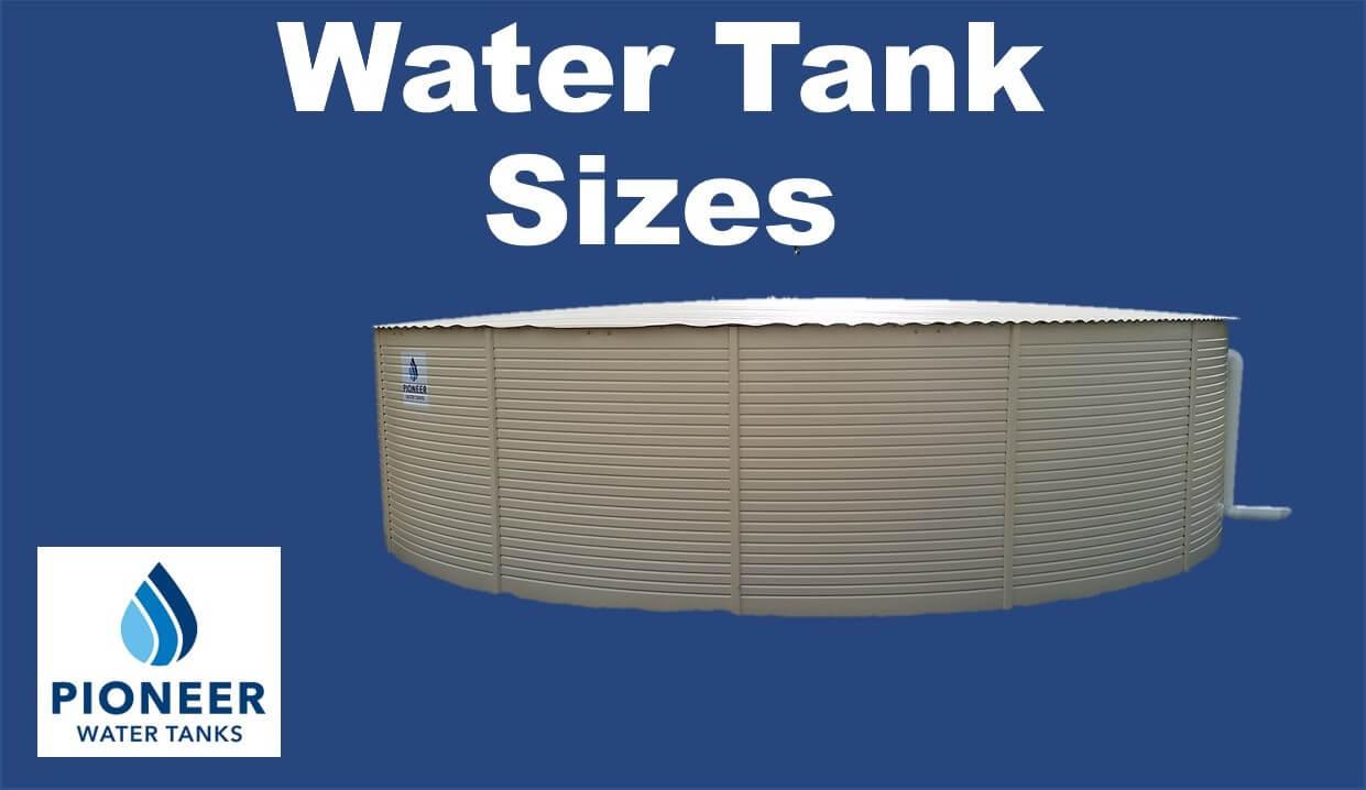Pioneer-water-tank-sizes