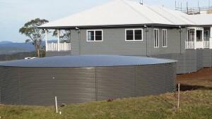Pioneer water tank in Toowoomba