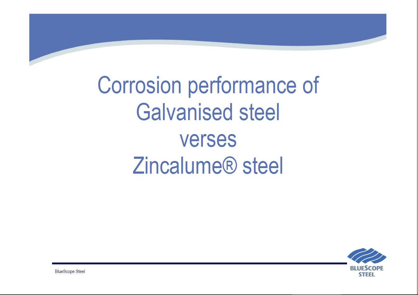 Galvanised versus Zincalume – Divine Water Tanks