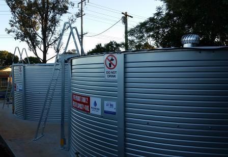 Pioneer Fire Water Tanks