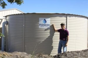 Pioneer Water Tank 50,000 litres in New Beith Logan
