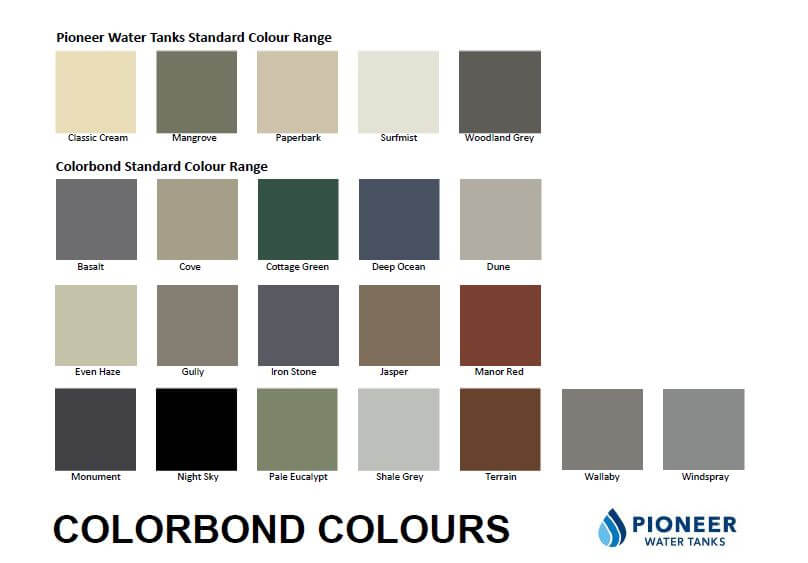 pioneer-water-tanks-colrbond-colours-divine-water-tanks